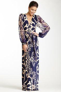 Silk Wrap Dress by Analili on @HauteLook
