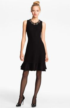 Mcginn Sweater Dress with Detachable Necklace available at #Nordstrom