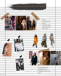 Moodboard For Fall And Winter | Beauty stuff by Ana