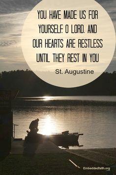 saint augustine - saintly sayings