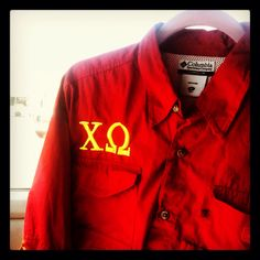 My Chi Omega PFG!!! Couldn't be happier with the result!