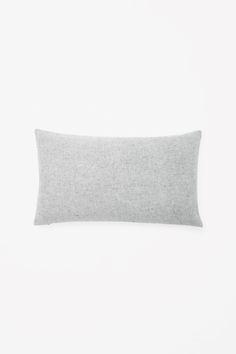 COS | Rectangular wool-cashmere cushion