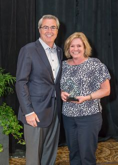 Kimberly Alexander and Dave North, President & CEO of Sedgwick