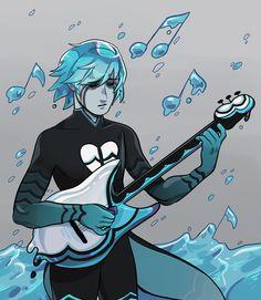 """my headcanon """"akumatized"""" version of Luka"""