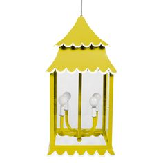 Buy Girly Hanging Lantern from Stray Dog Designs on Dering Hall