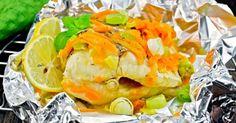 Recette de Papillote ultra-light de lotte au vin blanc et aux poireaux. Facile et rapide à réaliser, goûteuse et diététique.