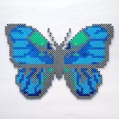 Butterfly hama perler beads by coriander_dk