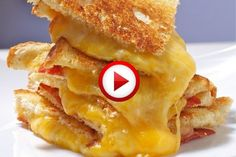 How To Make A Grilled Cheese Sandwich Video #cooking, #kitchen, #food, #pinsland, #howto, https://apps.facebook.com/yangutu