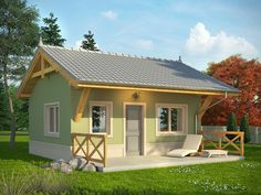Design Your Own Floor Plan Using One of These 13 Small and Lovely House Style! Simple Bungalow House Designs, Small Cottage Designs, Modern Bungalow House, Modern House Plans, Small House Plans, Cool House Designs, House Floor Design, Small House Design, Tiny House Cabin