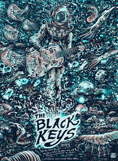 Black Keys - Miles Tsang - 2013 ----