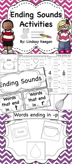 Ending Sounds Word Work