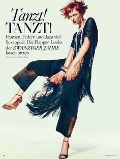 Daga Ziober: Vogue Germany, January '12