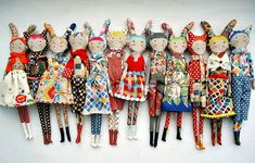 modflowers Liberty dolls for Sarah Campbell