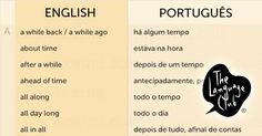 Build Your Brazilian Portuguese Vocabulary Better English, English Love, English Tips, English Study, English Class, English Lessons, Learn English, English Reference, English Vocabulary
