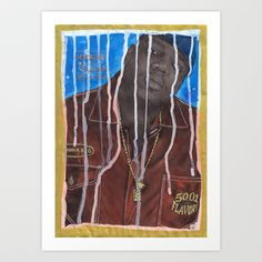DEAD RAPPERS SERIES - Notorious B.I.G. Art Print by Ibbanez - $20.80