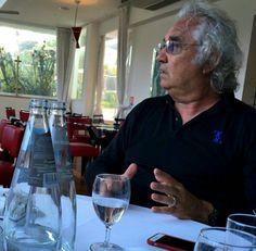 Lunch with Flavio Briatore  #flaviobriatore #lunch
