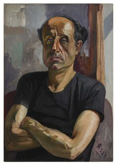 The brilliant Alice Neel. Portrait of Sam