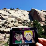 What a beautiful day at Turtle Rock in Wyoming! (from @moore_zachary)