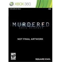 Square Enix Genuine Murdered Soul Suspect X360 -- You can get additional details at the image link. Note:It is Affiliate Link to Amazon.