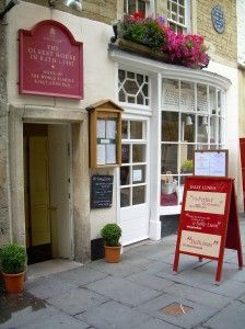 Sally Lunn's Tea Room, Bath, England-someday might be lucky enough to have a cup of tea here!?