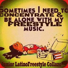 Yes! I need my freestyle music to keep me sane