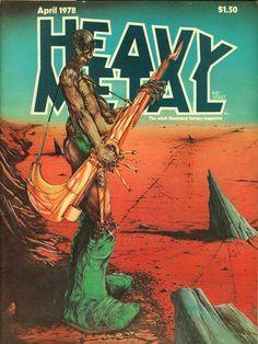 Heavy Metal April 1978