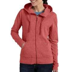 Carhartt 101424 - Women s Hayward Zip Front Hooded Sweatshirt 01b279fdd