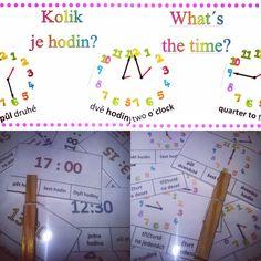 Výzdoba třídy,kolíčkové karty Clock, English, Map, Watch, Location Map, English Language, Clocks, Maps, The Hours