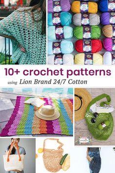 6618c33d900 So many wonderful summer crochet patterns like bags, garments, and blankets  with a super versatile bright yarn.  freepattern  crochet  crochetbag ...