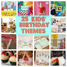 Party Ideas for Kids | 25 Best Kids' Birthday Party Ideas