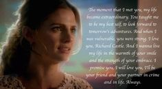 wonderful speech <3 <3 <3 7x06 'The Time Of Our Lives' #CaskettWedding #CaskettAtLast
