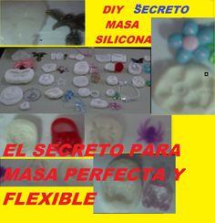 MASA O PASTA DE SILICON EL SECRETO PARA HACERLA PERFECTA Y SUPER FLEXIBLE