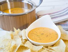 Cheese sauce makes or breaks any nacho recipe. This easy and flavorful queso is the best! Drizzled over tortilla chips, burgers, or fries, smokey queso