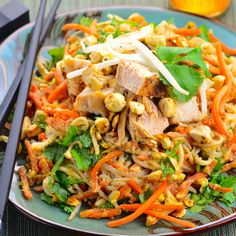 Enjoy this thai styled metabolism noodles perfect for a Phase 3 Dinner on the Fast Metabolism Diet!