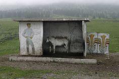 soviet roadside bus-stops