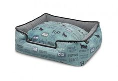 Dog's Life Lounge Dog Bed - Powder Blue