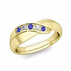 Sapphire Rings - Wedding | My Love Wedding Ring