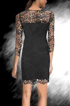 שמלת ערב תחרה דגם T2001