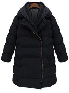 076627f5fe0 Women Winter Warm Thick Mid-Long Coat Overcoat Hooded Down Jacket Outwear  Plus Size