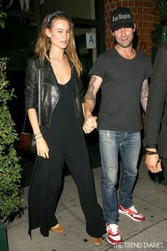 Behati Prinsloo at Mr. Chow Restaurant in Beverly Hills, California - September 30, 2013