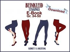 """Milchmonster - E-Book """"Leggings Beinkleid"""""""
