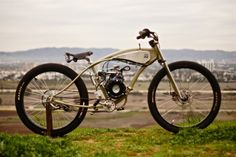 Motorised Bicycle by Wolf Creative Customs American / Bicycles / Board-Trackers / Custom / Motorcycles / Retro