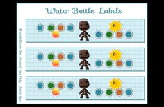 little big planet printables - Google Search