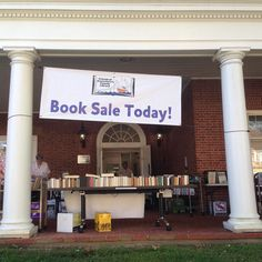 Join our Friends for their book sale at either branch.