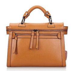 Kohthai Genuine Leather Women Bag Special Design Double Zipper Women Messenger Bags Handbags Women Famous Brands Vintage FB332