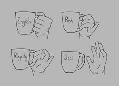 I am either English or royalty when it come to hot beverages however hand me a beer and I am either Posh or Jedi.