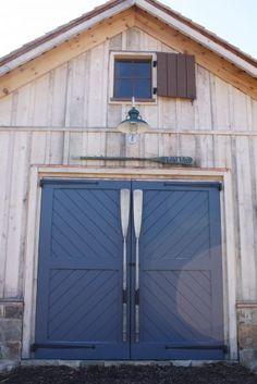 Boat House doors