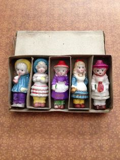 Antique Vintage Bisque Doll Penny Frozen Charlotte Nursery Rhyme on Etsy, $39.00