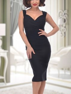 Flattering pin up wiggle dress NWT Never got to wear  ( so sexy b4ae54a059b9