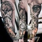 Incredible Sleeve Tattoo